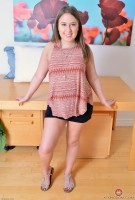 Brooke Bliss short black skirt