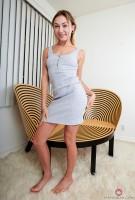 Chloe Temple grey dress