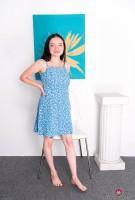 Leia Rae blue dress