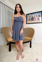 Mi Ha Doan blue dress